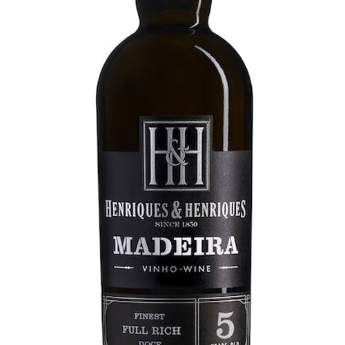 Madeira Full Rich. 3 yr old, Henriques & Henriques 0,75L