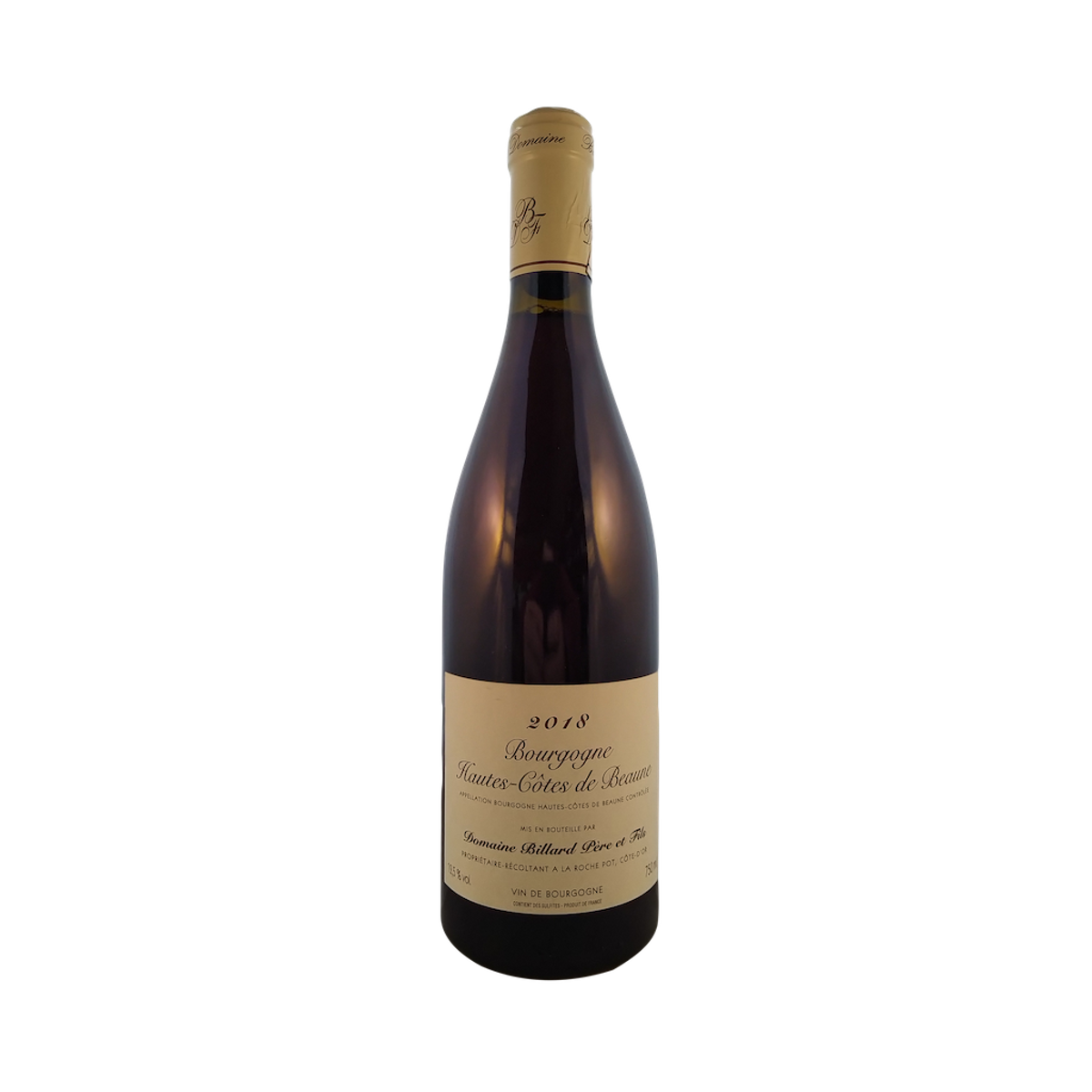 Bourgogne Hautes Côtes de Beaune rouge, 2018