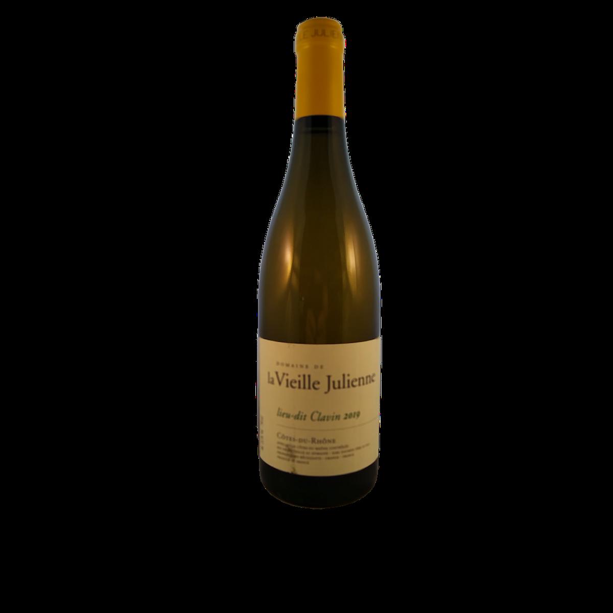 Côtes du Rhône blanc  'Lieu-dit Clavin', 2019
